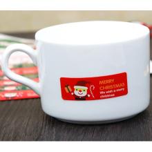 Adhesivo de papel de Navidad personalizado decoración etiqueta adhesiva Aticker