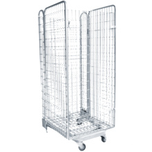 Top vente récipient métallique, cage métallique, cage empilable