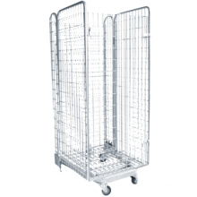Top selling wire container, wire cage, stackable cage