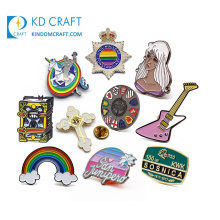 OEM Wholesale Magnetic Aircraft Airplane Military Eagle Flower Country Flag Cute Butterfly Metal Pin Badge Manufacturer China Custom Enamel Lapel Pin No Minimum