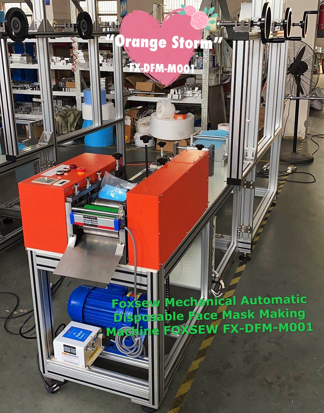 Mechanical Automatic Disposable Face Mask Making Machines (6)