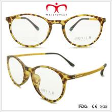 Retro Tr90 gafas de lectura unisex con el templo de la primavera (7207)