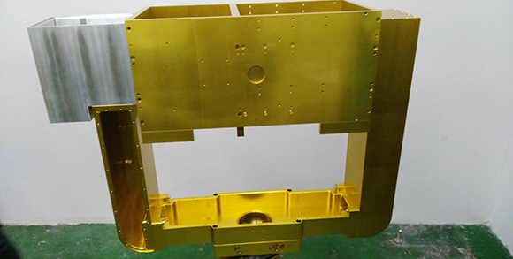 Assembly machining large parts service