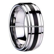 Mode Ring Wolfram Ring hoch poliert glänzend Ring Hersteller & Lieferant & Exporteur