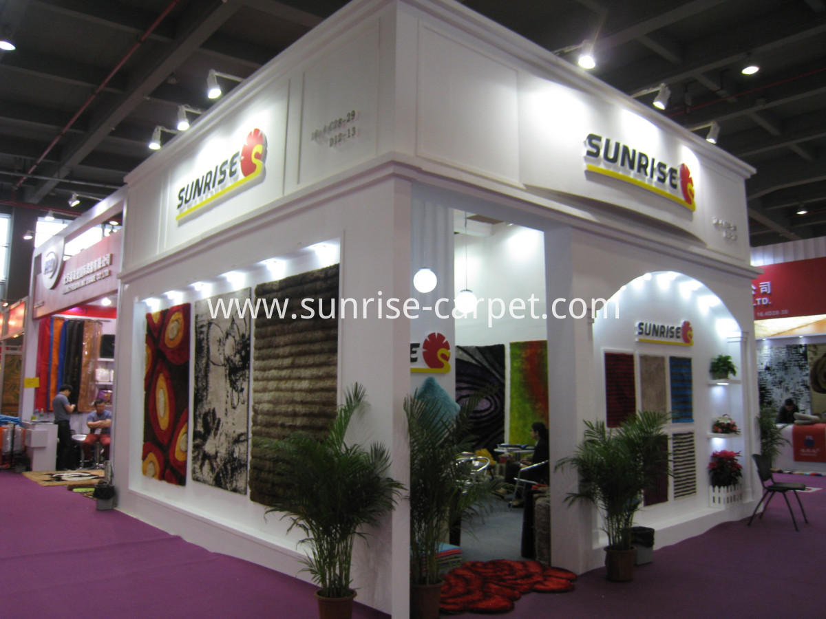 Booth in Canton Fair