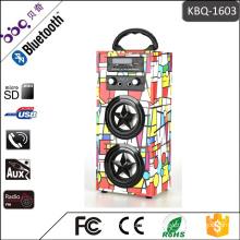 MP3, Mobile phone Bluetooth Classic Retro Portable karaoke led light bulb speaker