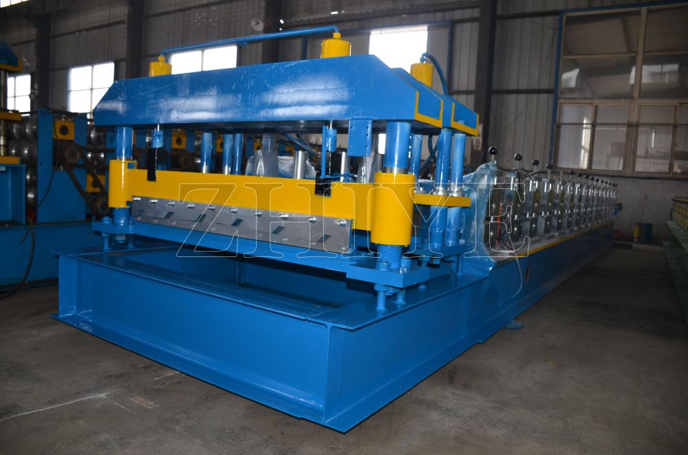 Υψηλής απόδοσης GI Glazed Tile Making Machine Zhiye