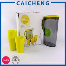 Wellpappe Karton mit Kunststoff-Griff für die Tasse Lagerung Verpackung