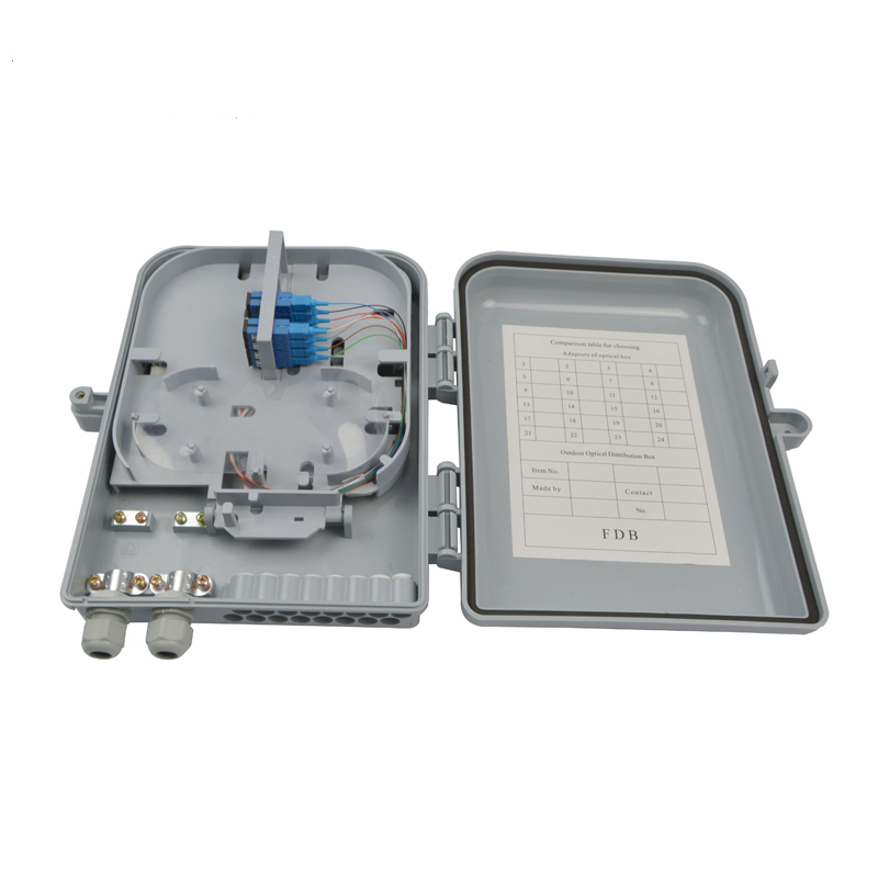 Plc Splitter Fiber Optic Junction Box