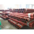 Homologado por UL Tubo de acero pintado rojo de lucha contra incendios aprobado por FM