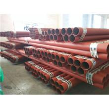 UL Listado FM Aprovado Red Painted Fire Fighting Steel Pipe