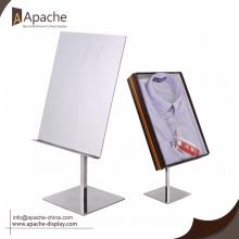 Popular Design for Shopping Mall Displays Adjustable Metal Blouse Tabletop Display Stand export to Montserrat Exporter