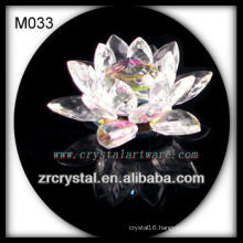 K9 Colorful Crystal Lotus Flower