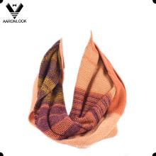 Стильный многоцветный трикотажный платок Lady's Scarf