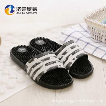 Home massage men's plastic slippers pvc men shoes