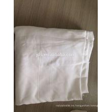 Tejido blanco de 125g / m2 MICROFIBER