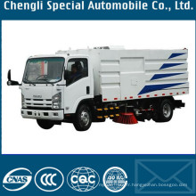 LHD 6000liters 4 X 2 Isuzu route ramonage camion