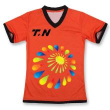 Camiseta de algodón, camisa de encargo