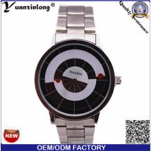 Yxl-369 venta caliente de la buena calidad reloj de acero inoxidable para hombre de moda cuarzo venta al por mayor 2016 marca de relojes de Paidu hombres