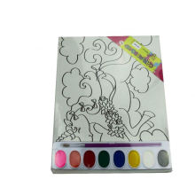 Conseil de toile DIY coloriage aquarelle impression