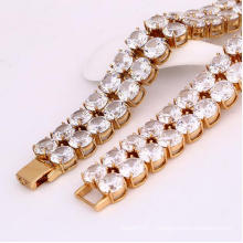Xuping Fashion 18k Золотой браслет Luxuyr (72260)