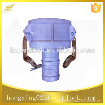 aluminum reducing camlock coupling, reducing quick coupling type CR