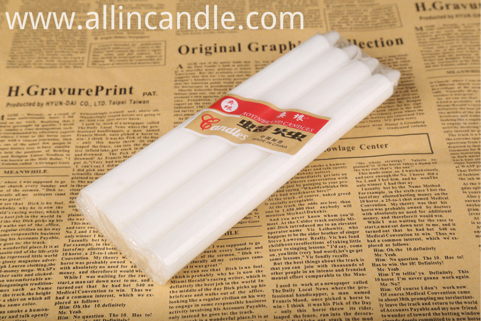Paraffin Wax Taper Candle