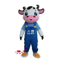 plush milk cow promotional costume