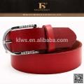 Fábrica de vendas diretas excelentes cintos vermelhos com diamantes