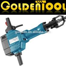 825mm 63J 2200w Power Concrete Pavement Breaker Démolition électrique portable Jack Hammer GW8079