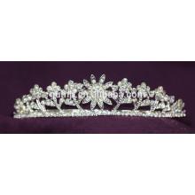 Schönheit Kristall Braut Crown Rhinestone Hochzeit Tiara
