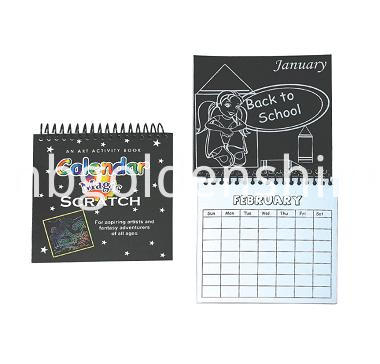 Magic Scratch Art Calendar