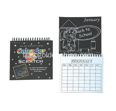 Magic Scratch Art Calendrier