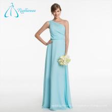 Summer New Design Elegant Pleat Robes de demoiselle d'honneur Chiffon