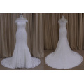 Popular Mermaid Wedding Dress China Wholesale Boat Neckline