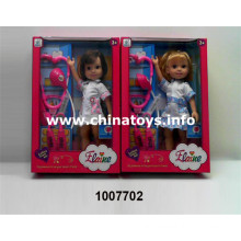 Hot Style Plastic Doctor Set with Elaine Baby (1007702)