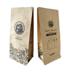 Bolsa de café de papel kraft