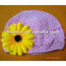 Sombrero de vaquero de ganchillo