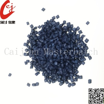 Dark Blue PET Masterbatch Granules