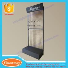 Pulverbeschichtung Metalldraht Mesh Display Racks und steht für hängende Artikel