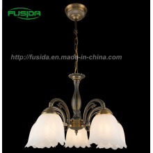 European Design Glass Pendant Light&Crystal Die-Casting Chandelier (D-8105/5)