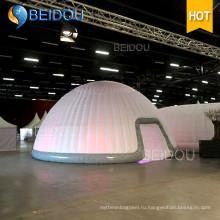 LED Events Party Свадебное оформление Большие палатки Marquee Военная армия Надувной купол палатки