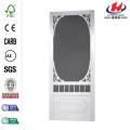 Belle Harbour Solid Vinyl White Screen Door