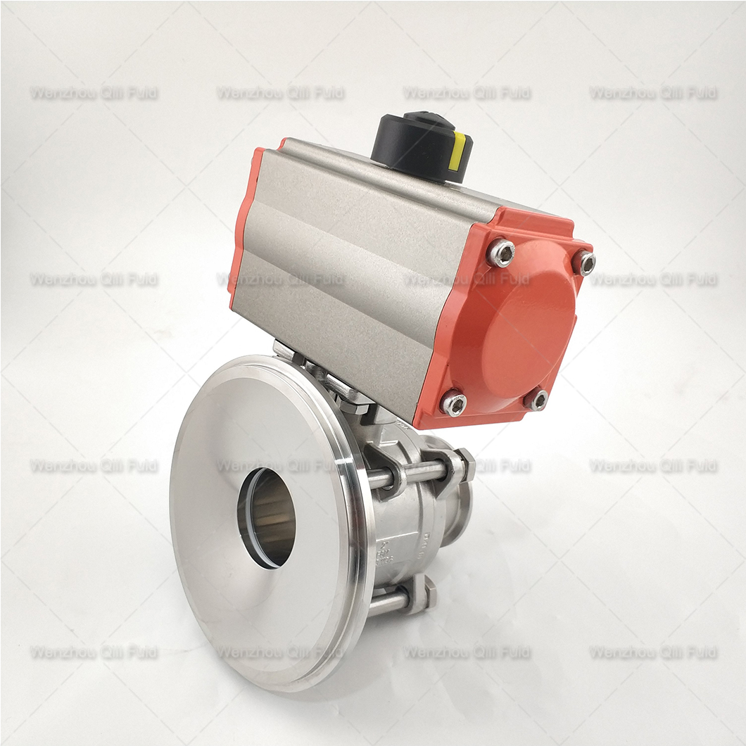 Pneumatic tank bottom ball valve (14)