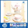 Großhandel Royal Tee Set In China, Bsci Certificated Großhandel Porzellan Tee Set, Keramik Tee Set / Geschirr Geschirr