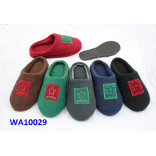 Men's Pile Application Platform Scafo Indoor Slippers