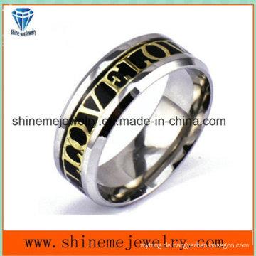 Art- und WeiseEdelstahl-Körper-Schmucksache-eingelegter Ring (SSR2788)