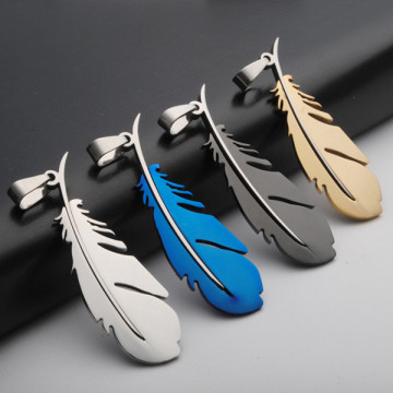 Tinggi Poland Best Quality Colorful Feathers Pendant