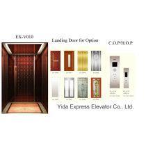 Gold Mirror Stainless Steel Home Elevator Manufacturer