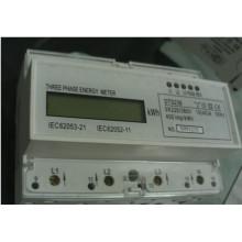 Único medidor eletrônico da energia do trilho DIN para o mercado internacional